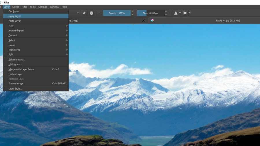 Digital Landscape Painting for Beginners with Krita - Monstabot